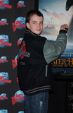 AXEL ETEL Photo - Actor Alex Etel donates memorabilia from The Water Horse Legend of the Deep to Planet Hollywood in Times Square