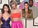 Axel Bauer Photo - LOS ANGELES CA - FEBRUARY 15  Musicians Selena Gomez (L) and Taylor Swift arrive at The 58th GRAMMY Awards at Staples Center on February 15 2016 in Los Angeles California  (Photo by AxelleBauer-GriffinFilmMagic)