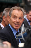 Tony Blair Photo - Former British Prime Minister Tony Blair  made an appearance at the Late Show with David Letterman on September 8 2009 in New York City