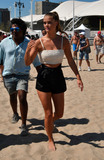 Nina Agdal Photo - August 28 2016 New York CityModel Nina Agdal at the 2016 Sports Illustrated Summer Of Swim Fan Festival  Concert at the Ford Amphitheater at Coney Island Boardwalk on August 28 2016 in Brooklyn New YorkBy Line Curtis MeansACE PicturesACE Pictures IncTel 6467670430