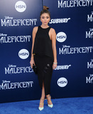 Sarah Hyland Photo - May 28 2014 LASarah Hyland arriving at the World Premiere Of Disneys Maleficent at the El Capitan Theatre on May 28 2014 in Hollywood California