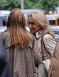 Nancy Myers Photo - Actress Meryl Streep on the set of the Nancy Myer film project on June 4 2009 in New York City