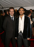 Alfred Boe Photo - Cast Members Jesus Garcia and Alfred Boe at the opening of La Boheme on Broadway New York December 8 2002