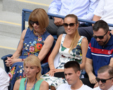 Anna Wintour Photo - September 9 2016 New York CityAnna Wintour (L) and Jelena Djokovic spectate on day 12 of the US Open Tennis Championships on September 8 2016 in New York CityBy Line SolarACE PicturesACE Pictures IncTel 6467670430