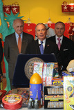 Nicholas Scoppetta Photo - NYC Fire Chief Nicholas ScoppettaMayor Michael Bloomberg and Police chief Ray Kelly at the official weigh-in ceremony for the 94th Annual Nathans Famous Fourth of July International Hot Dog-Eating Contest at Macys Herald Square on July 2 2009 in New York City