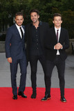 Cinderella Photo - Liam Payne  Ben Haenow  Louis Tomlinson at the Believe In Magic Cinderella Ball held at the Natural History Museum London August 10 2015  London UKPicture James Smith  Featureflash