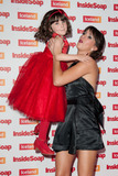 Amelia Flanagan Photo - Amelia Flanagan and Verity Rushworth arriving for the Inside Soap Awards 2014 London 01102014 Picture by Alexandra Glen  Featureflash