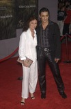 Jacqueline Bisset Photo - Actress JACQUELINE BISSET  boyfriend at the world premiere in Hollywood of her new movie Cold Creek ManorSept 17 2003 Paul Smith  Featureflash