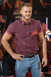 Austin Armacost Photo - Austin Armacost at the Celebrity Big Brother 2015 UK vs USA launch at Borehamwood England August 27 2015  London UKPicture James Smith  Featureflash
