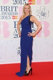 Jo Whiley Photo - Jo Whiley arriving at The Brit Awards 2015 (Brits) held at the O2 - Arrivals London 25022015 Picture by James Smith  Featureflash