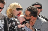 AJ MCLEAN Photo - Backstreet Boys star AJ McLean  wife  daughter on Hollywood Boulevard where they were honored with the 2495th star on the Hollywood Walk of FameApril 22 2013  Los Angeles CAPicture Paul Smith  Featureflash