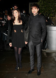 Zane Photo - Alex Zane and girlfriend Lorena Mancini arriving for the English National Ballet Christmas showing of The Nutcracker at The Coliseum Theatre London 14122011 Picture by Alexandra Glen  Featureflash