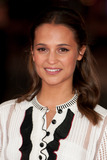 Testament Photo - Alicia Vikander arrives for the Testament of Youth premiere Empire Leicester Square London 05012015 Picture by Dave Norton  Featureflash