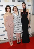 Lena Dunham Photo - Zosia Mamet Lena Dunham Allison Williams arriving for the Girls - UK premiere of the third series held at the Cineworld Haymarket - Arrivals London 15012014 Picture by Henry Harris  Featureflash