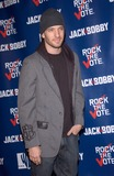 JC Chasez Photo - Pop star JC CHASEZ at party at Warner Bros Studios Hollywood for Rock the VoteSeptember 29 2004
