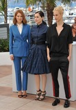 Amira Casar Photo - Lea Seydoux (left) Amira Casar  Aymeline Valade at photo call for their movie Saint-Laurent at the 67th Festival de CannesMay 17 2014  Cannes FrancePicture Paul Smith  Featureflash