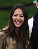 Jessica Michibata Photo - Jessica Michibata arriving for the Burberry Prorsum fashion show as part of London Fashion Week 2012 AW in Kensington Gardens London 20022012 Picture by Simon Burchell  Featureflash