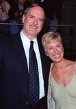 Alyce Faye Photo - 08NOV99 Actor JOHN CLEESE  friend ALYCE FAYE at world premiere in Los Angeles of the new James Bond movie The World Is Not Enough in which he plays R Paul Smith  Featureflash