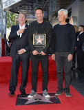 Chris Carter Photo - Actor David Duchovny with Gary Shandling  Chris Carter on Hollywood Boulevard where he was honored with the 2572nd star on the Hollywood Walk of FameJanuary 25 2016  Los Angeles CAPicture Paul Smith  Featureflash
