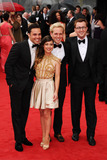 Andy Jordan Photo - Andy Jordan Louise Thompson Jamie Laing and Francis Boulle arriving for the TV BAFTA Awards 2013 Royal Festival Hall London 12052013 Picture by Steve Vas  Featureflash