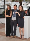 Marine Vacth Photo - Marine Vacth director Francois Ozon  Geraldine Pailhas (right) at the photocall for their movie Jeune  Jolie in competition at the 66th Festival de CannesMay 16 2013  Cannes FrancePicture Paul Smith  Featureflash