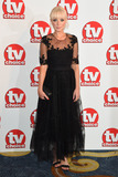 Helen George Photo - Helen George arriving for the TV Choice Awards 2014 at the Hilton Park Lane London 08092014 Picture by Steve Vas  Featureflash