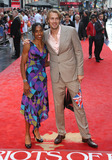 Chris Tomlinson Photo - Yamile Aldama and Chris Tomlinson arriving for the Chariots of Fire Premiere held at the Empire Leicester Square - London England 10072012 Picture by Henry Harris  Featureflash