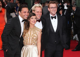 Andy Jordan Photo - Andy Jordan Louise Thompson Jamie Lang and Oliver Proudlock arriving for the TV BAFTA Awards 2013 Royal Festival Hall London 12052013 Picture by Alexandra Glen  Featureflash