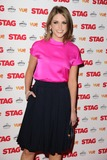 Amy Huberman Photo - Amy Huberman (Brian ODriscols wife) arrives for the premiere of The Stag at the Vue Leicester Square London 13032014 Picture by Steve Vas  Featureflash
