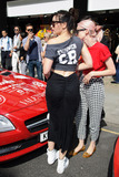 Daisy Lowe Photo - Daisy Lowe and Portia Freeman at the end of the Cash and Rocket Rally Knightsbridge London 08062014 Picture by Steve Vas  Featureflash