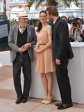 Jacques Audiard Photo - Marion Cotillard  Matthias Schoenaerts  director Jacques Audiard (left) at photocall for their new movie Rust  Bone in competition at the 65th Festival de CannesMay 17 2012  Cannes FrancePicture Paul Smith  Featureflash