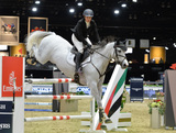 Ashlee Bond Photo - Ashlee Bond (USA) riding Cornancer at the Gucci Gold Cup International Jumping competition at the 2015 Longines Masters Los Angeles at the LA Convention CentreOctober 3 2015  Los Angeles CAPicture Paul Smith  Featureflash