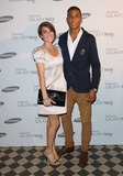Andrew Osagie Photo - Emily Pidgeon and Andrew Osagie arriving for the Samsung celebrate the launch of the Galaxy Note 101 held at One MayfairLondon 15082012 Picture by Henry Harris  Featureflash