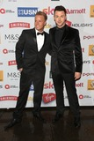 Jaymi Hensley Photo - Jaymi Hensley and Olly Marmon arriving for the Attitude Awards at Banqueting House London 13102014 Picture by Alexandra Glen  Featureflash