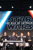 Chris Terrio Photo - Adam Driver JJ Abrams Chris Terrio Kathleen Kennedy 12042019 Star Wars The Rise of the Skywalker Press Conference held in Pasadena CA Photo by Izumi Hasegawa  HollywoodNewsWireco