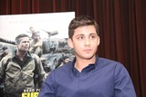 Logan Lerman Photo - Logan Lerman 10102014 Press Conference of Fury held at Sony Pictures Studios in Culver City CA Photo by Izumi Hasegawa  HollywoodNewsWirenet