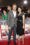 Aaron Fox Photo - Perrey Reeves Aaron Fox 11182015 The Festive World Premiere of The Night Before held at The Theatre at The ACE Hotel in Los Angeles CA Photo by Izumi Hasegawa  HollywoodNewsWirenet