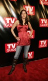April Wilkner Photo - Model April Wilkner arrives to the big party celebrating the launch of the new Big TV Guide on October 11  2005 in