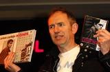 Anton Corbijn Photo - London UK Director of 2007s biopic Control photographer Anton Corbijn celebrates the release of the film on DVD and the book In Control with a signing session at HMVs Oxford Street Store  11 February 2008Ali KadinskyLandmark Media