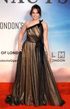 Felicity Jones Photo - London UK Felicity Jones at the premiere of The Aeronauts at the BFI London Film Festival held at Odeon Luxe Leicester Square London on Monday 7 October 2019Ref LMK392 -J5560-081019Vivienne VincentLandmark Media WWWLMKMEDIACOM