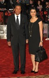 Halima Rashid Photo - London UK   Jermaine Jackson and wife Halima Rashid    at the European Premiere of the film Red held at the Royal Festival Hall on the South Bank19th  October 2010SydLandmark Media