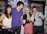 Alex Gaumond Photo - London UK Jill Halfpenny  Alex Gaumond Sheridan Smith and Duncan James at the Legally Blonde The Musical Album singing session Dress Circle Store Monmouth Street London UK 21st August 2010Can NguyenLandmark Media