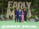 Nick Park Photo - London England 140118Tom Hiddleston Nick Park Maisie Williams and Eddie Redmayne at the Early Man World Premiere held at BFI IMAX 14 January 2017Ref LMK386-MB1114-140118Gary Mitchell  Landmark MediaWWWLMKMEDIACOM