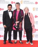 Sandy Toksvig Photo - London UK  Rahul Mandal Prue Leith Sandi Toksvig  at The British Academy Television Awards  2019held at  Festival Hall Belvedere Road London on Sunday 12 May 2019  Ref LMK392 -J4880-130519Vivienne VincentLandmark Media WWWLMKMEDIACOM
