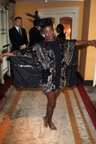 Noisettes Photo - London UK Shingai Shoniwa of The Noisettes at South Bank Sky Arts Awards 2011 -  Winners Press Room at the Dorchester in London 25th January 2011Evil ImagesLandmark Media