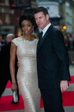 Heather Headley Photo - London UK Heather Headley and Lloyd Owen at the Olivier Awards at The Royal Opera House Covent Garden 28t April 2013Justin NgLandmark Media