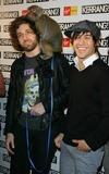 Andy Hurley Photo - London UK Joe Trohman Pete Wentz Patrick Stump and Andy Hurley of Fall Out Boy arrive at the Kerrang Awards held at Old Truman Brewery in London Although drummer Andy Hurley (4th R) is vegan and has done promotions for PETA Fall Out Boy has received criticism from animal rights groups for their use of chimpanzees an orangutan and a monkey in the music video of Thnks fr th Mmrs Despite objections from these groups Pete Wentz brought his chimpanzee to the Kerrang Awards 23rd August 2007Keith MayhewLandmark Media