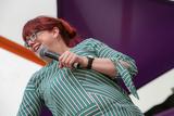 Angela Barnes Photo - Southwold Suffolk Comedian  Angela Barnes performs in the Comedy Arena on the first day of the  2018 Latitude Festival  at Henham Park near Southwold Suffolk 13th July 2018Ref LMK73-J2315-160718Keith MayhewLandmark MediaWWWLMKMEDIACOM