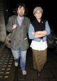 Trevor Nunn Photo - London UK Sir Trevor Nunn and his wife Imogen Stubbs spotted walking along Regent St in London 6th November 2008Can NguyenLandmark Media