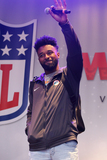 Jarvis Landry Photo - London UK Jarvis Landry   at the NFL on Regent Street event to celebrate the  American Football game between the Miami Dolphins and New Orleans Saints on 1st October at Wembley Stadium  30th September 2017Ref LMK73-S791-011017Keith MayhewLandmark Media WWWLMKMEDIACOM